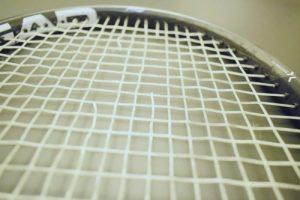 Racket that needs restringing